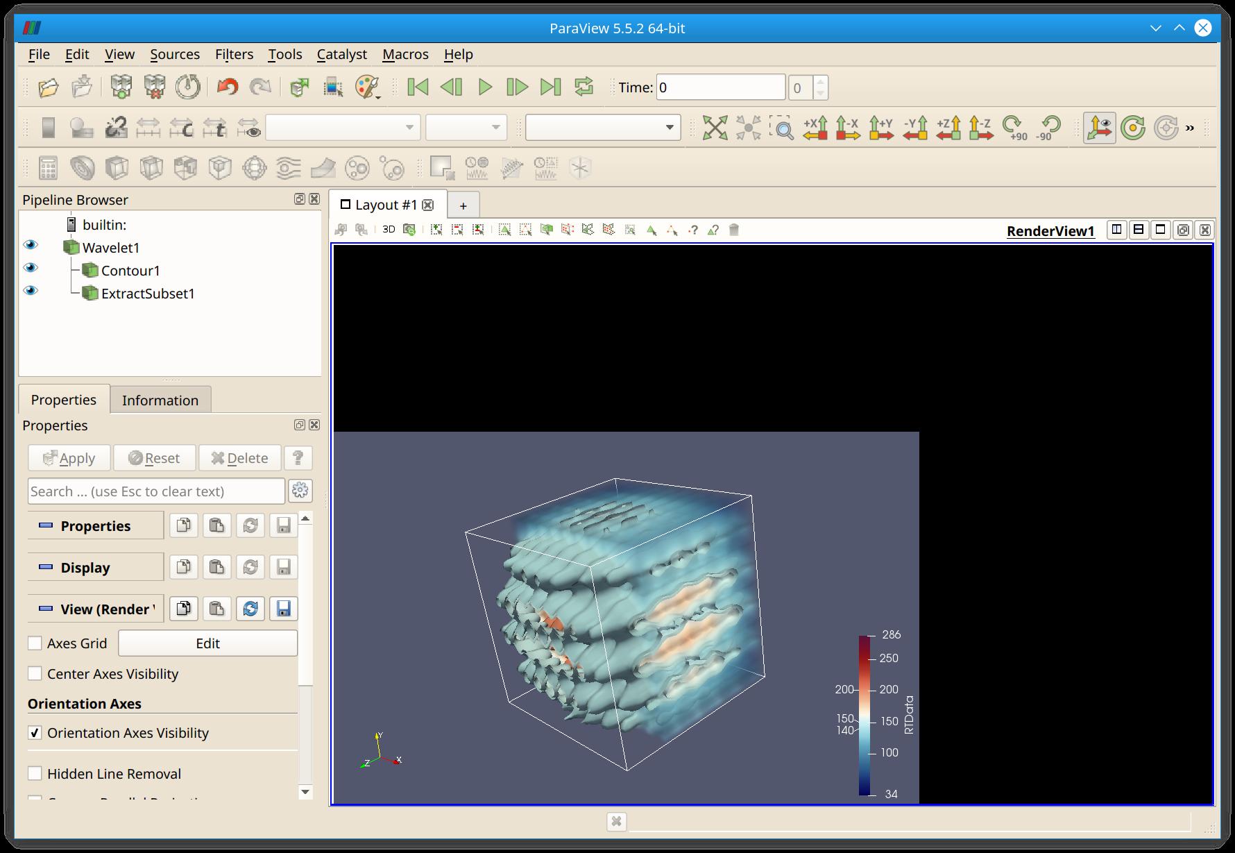 ParaView display issues, NVidia, Kubuntu 18 04 - ParaView